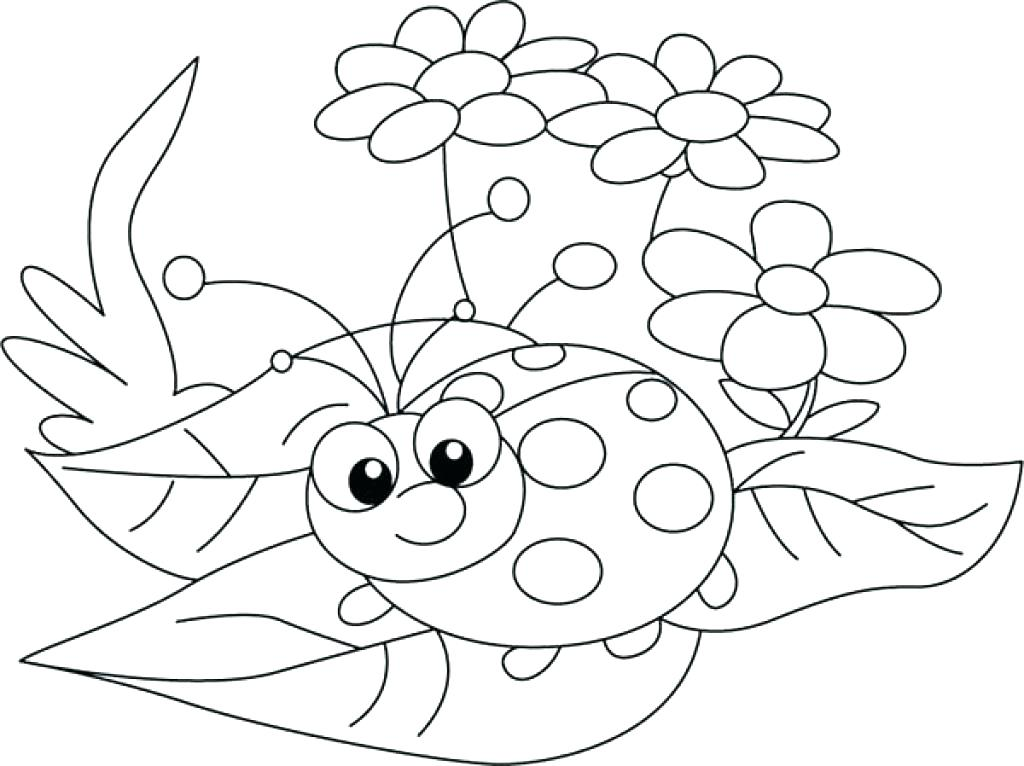 1024x766 Lady Bug Coloring Page Lock Screen Coloring Free Downloadable