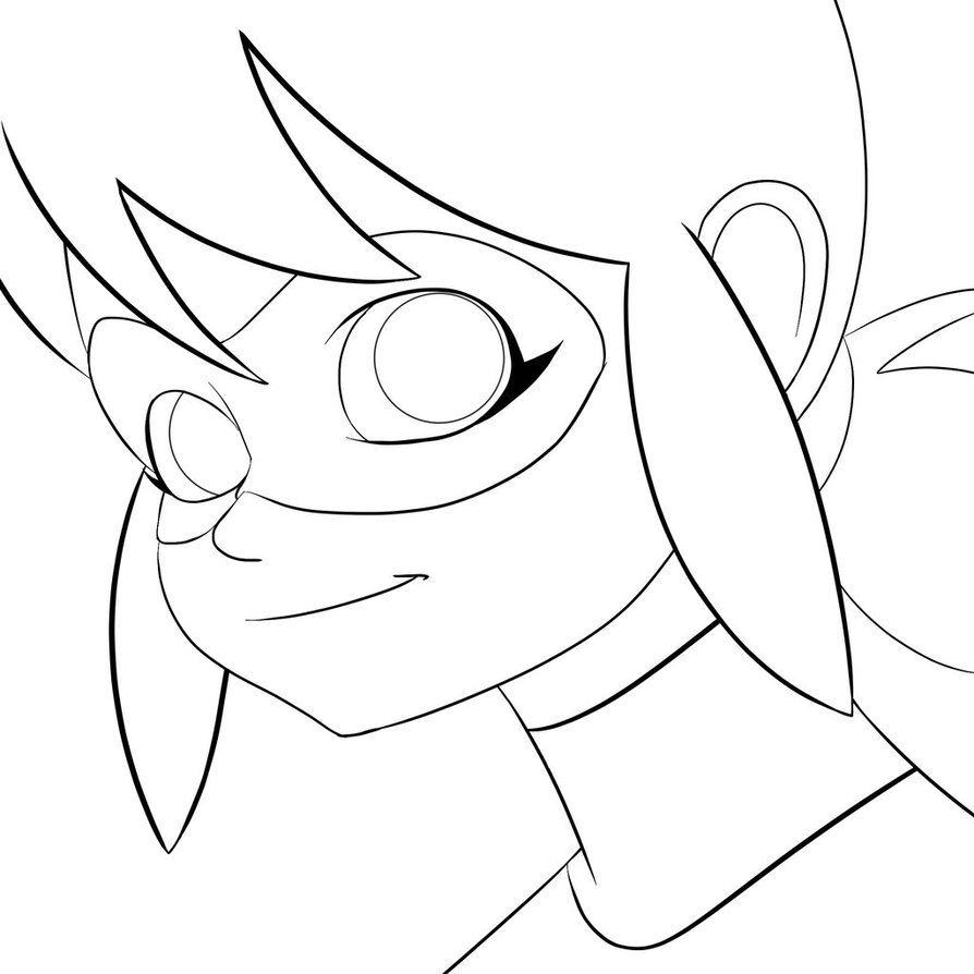 894x894 Ladybug And Cat Noir Coloring Pages