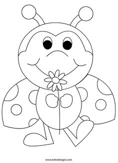 236x326 Ladybug Coloring Pages