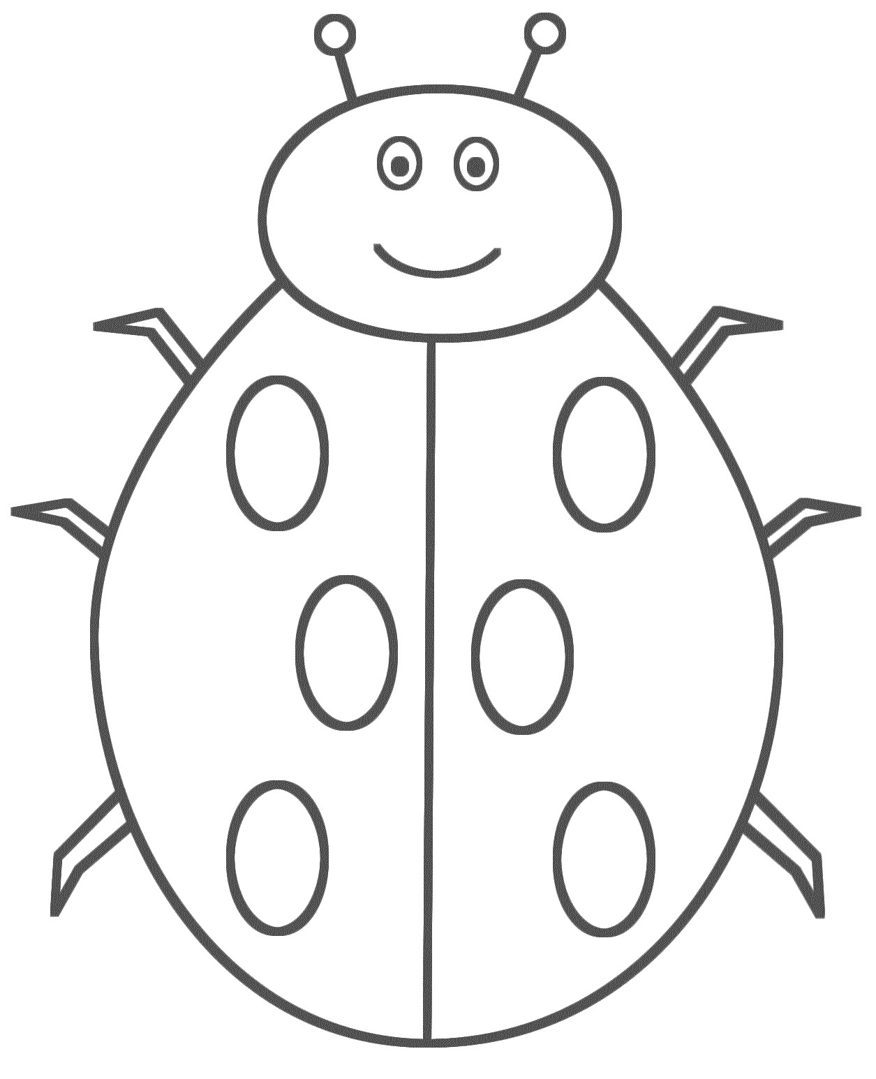 1255x1546 Ladybug Coloring Pages For Kids Freecolorngpages.co