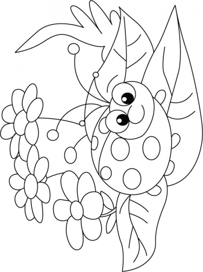 420x561 Ladybug Flower Rug Coloring Pages Download Free Ladybug