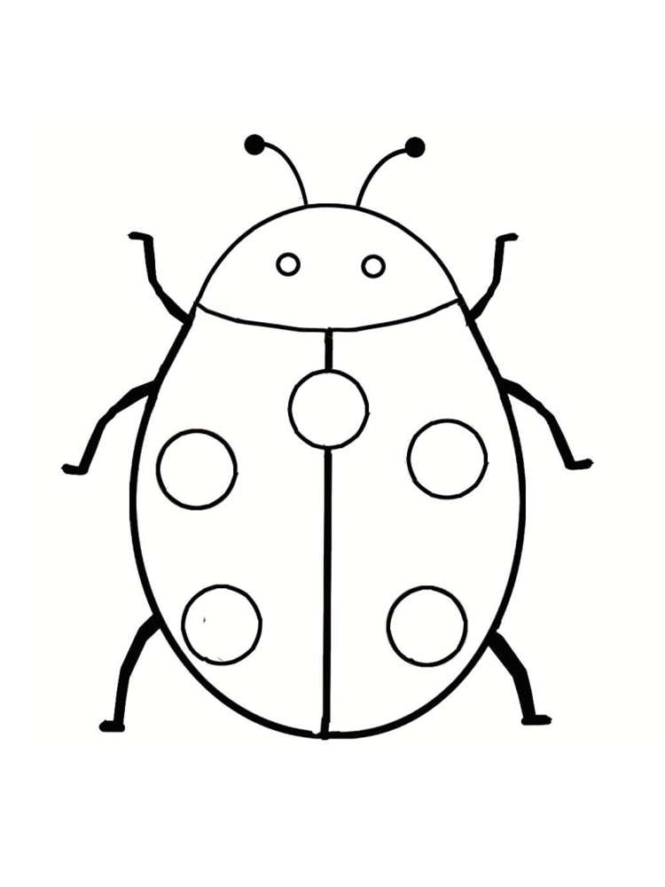 Ladybug Drawing For Kids At Getdrawings Com Free For Personal Use