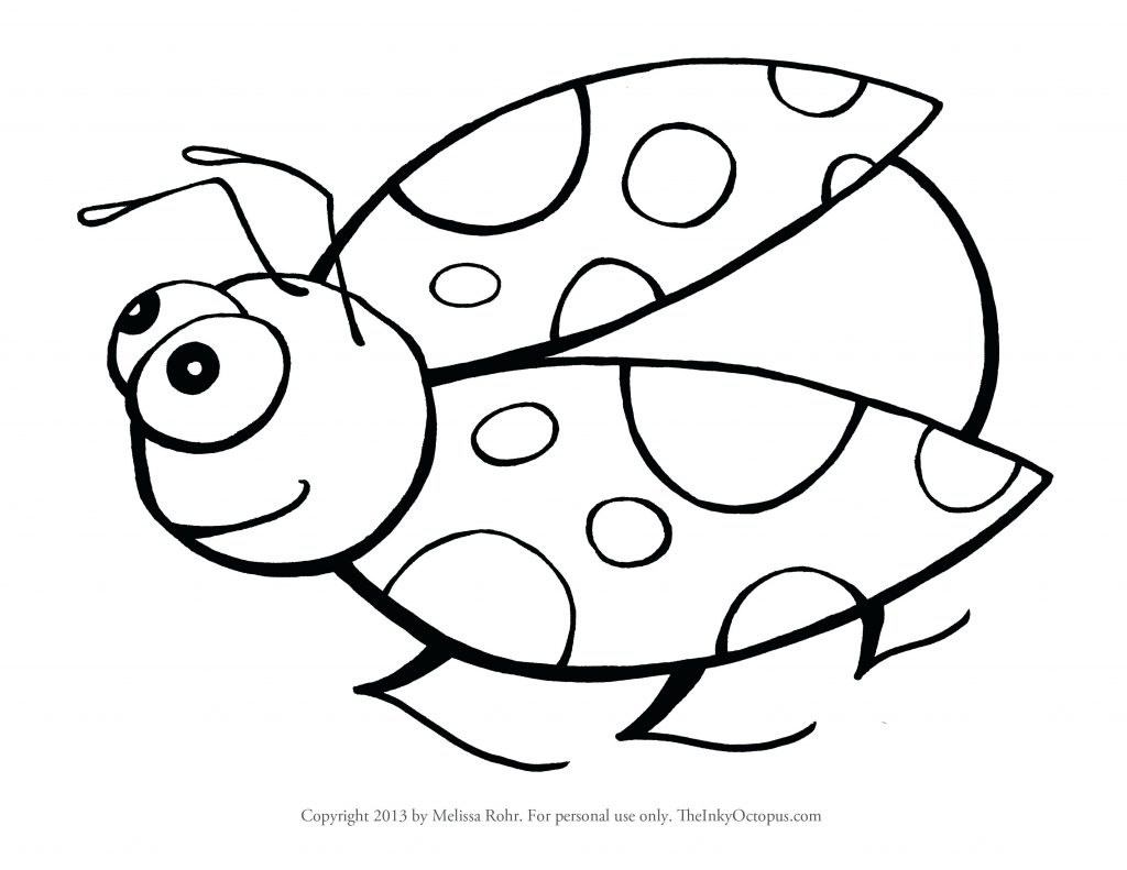 1024x791 Coloring Page ~ Lady Bug Coloring Page Miraculous Ladybug Pages