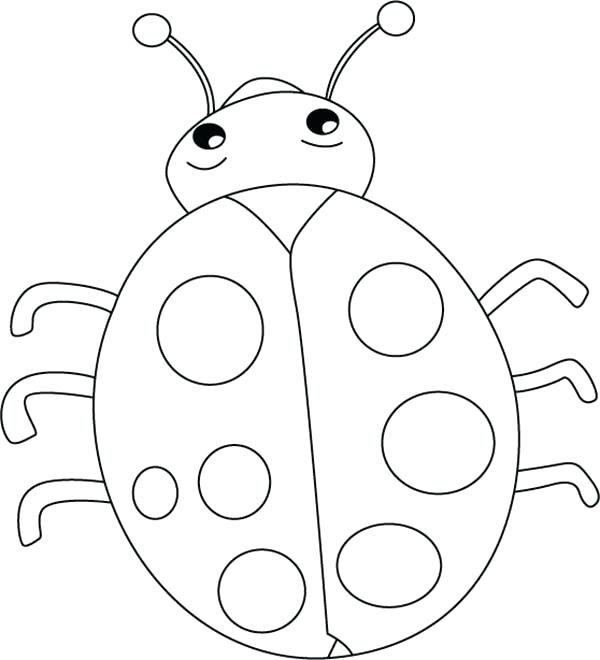 600x660 Fantastic Marvelous Ladybug Coloring Page Kids Pages Lovely Lady