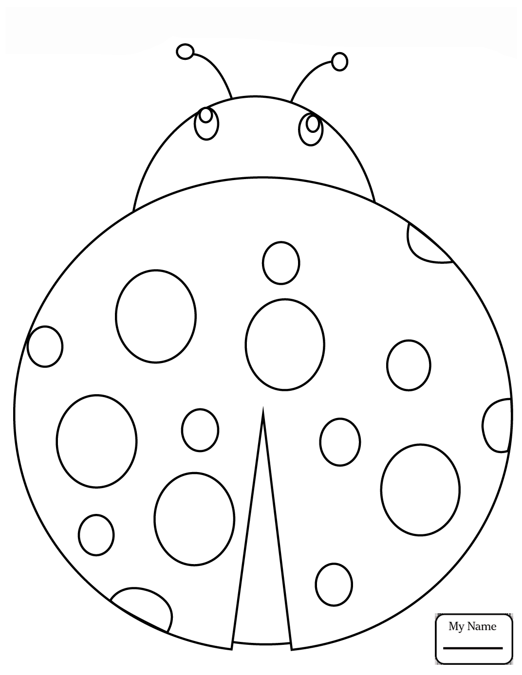 1072x1387 Cartoon Ladybug Insects Ladybug Coloring Pages For Kids