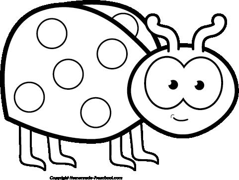 481x363 Free Ladybug Clipart 4