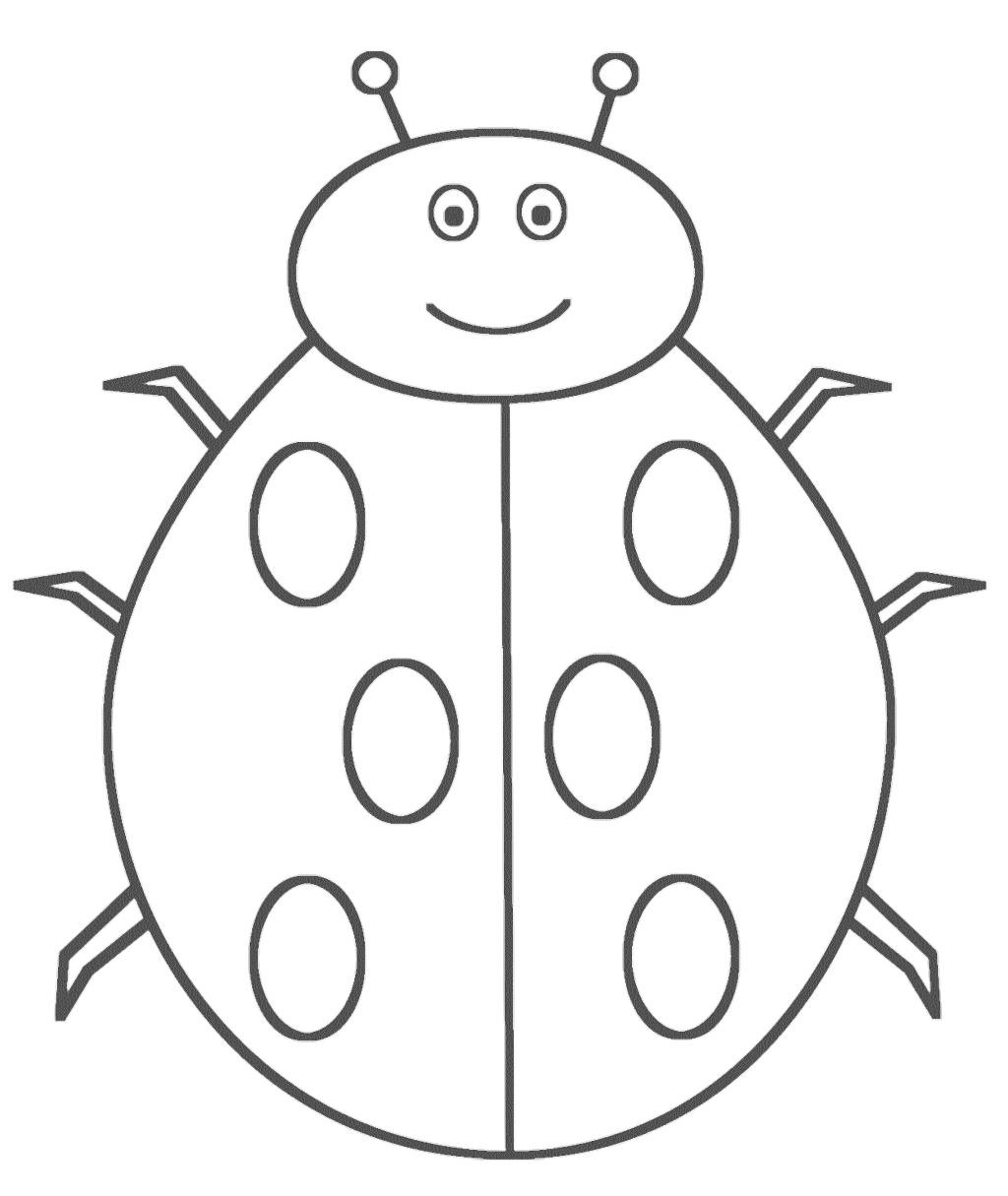 1024x1215 Best Ladybug Coloring Pages Photo Unknown Resolutions High
