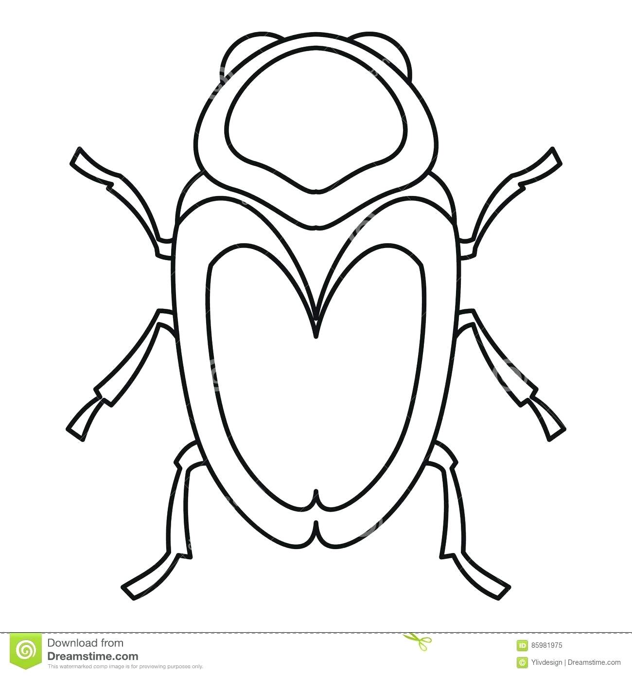 1300x1390 Coloring Pages Outstanding Bug Outline. Ladybug Outline Drawing