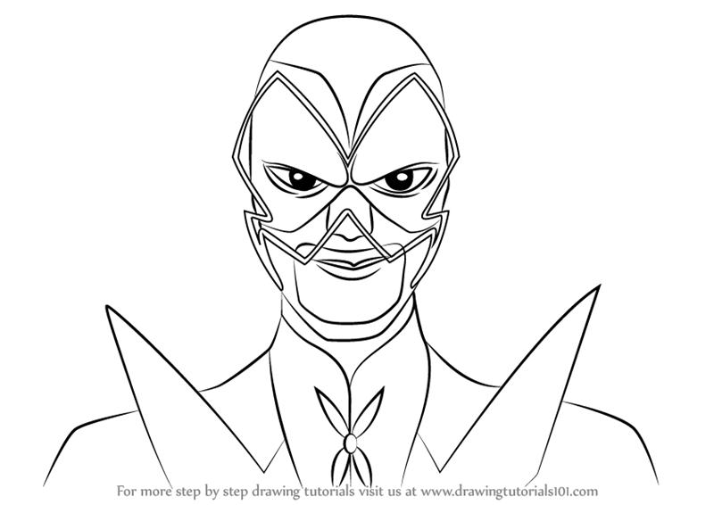 800x566 Learn How To Draw Hawk Moth From Miraculous Ladybug (Miraculous