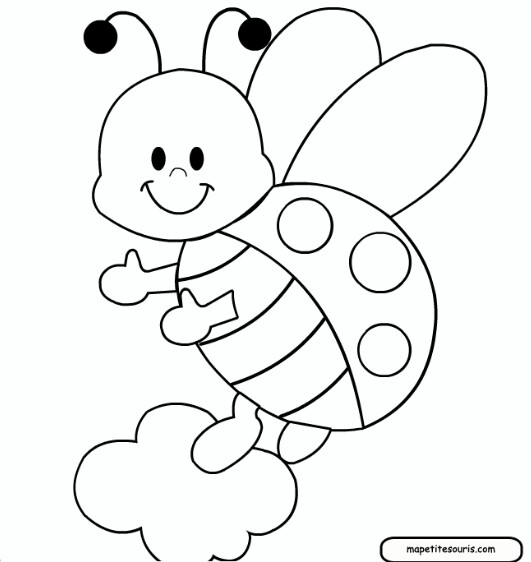 531x562 Ladybug Printable Printable For Fabric Paint Traceable