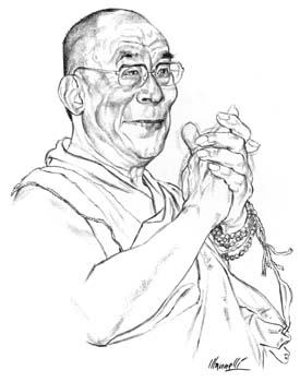 275x350 Riccardo Mannelli Dalai Lama Hello Dalai Dalai