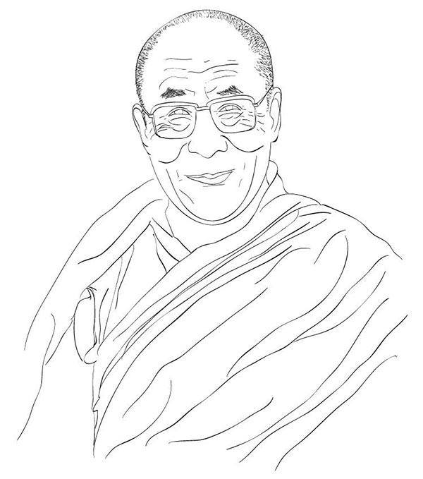 600x679 Dalai Lama