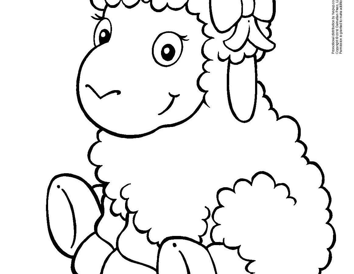 Lamb Cartoon Drawing at GetDrawings