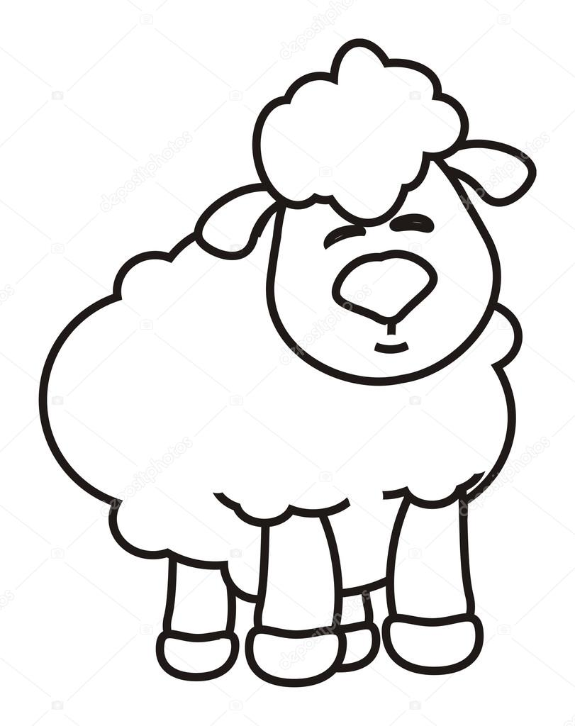 how to draw a realistic lamb