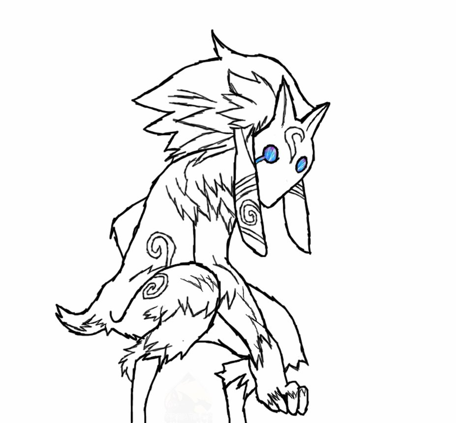 927x861 Lamb Drawing Unfinished By Greatace07