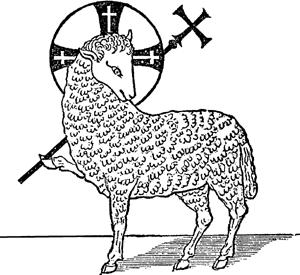 300x275 Lamb Of God. Lamb Of Godgood Shepherd Lambs
