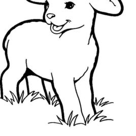 268x268 Coloring Page Jesus Lamb Of God Archives