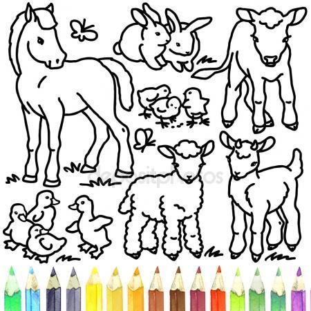 450x450 Sheep And Lamb. Coloring Book Sheep. Sheep Outline Drawing. Sheep