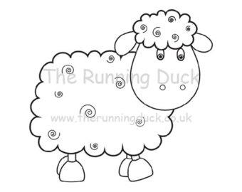 340x270 Sheep Digi Etsy