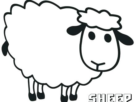 Lamb Outline Drawing At Getdrawings Com Free For Personal Use Lamb