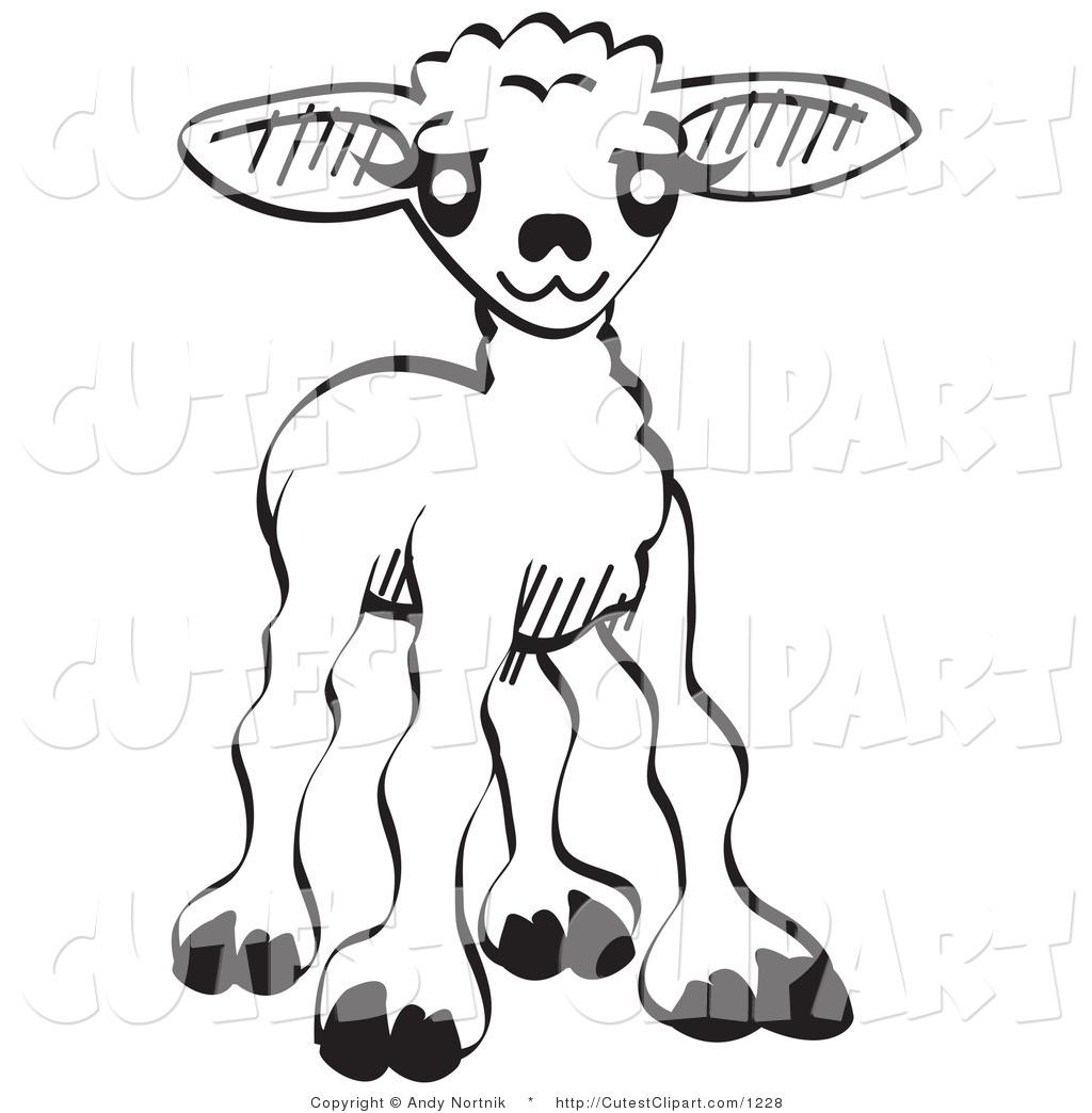 1024x1044 Cute Baby Lamb Clipart
