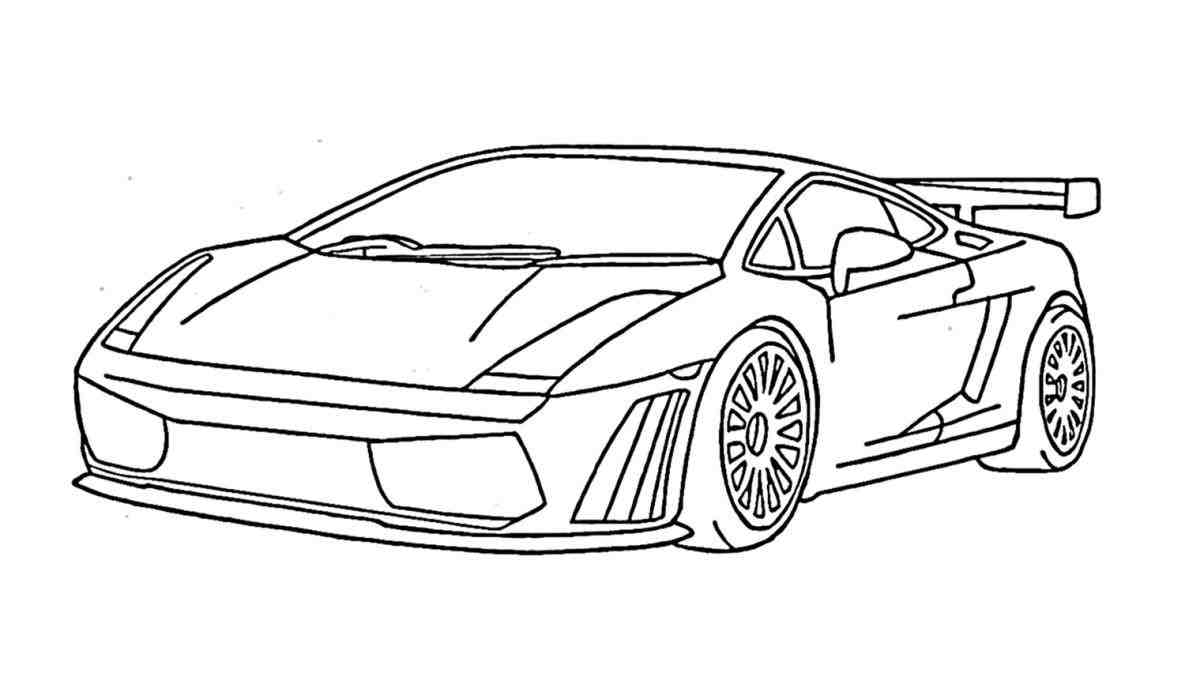 1185x699 Outline Amd Lamborghini Aventador Pencil And In Color Drawings