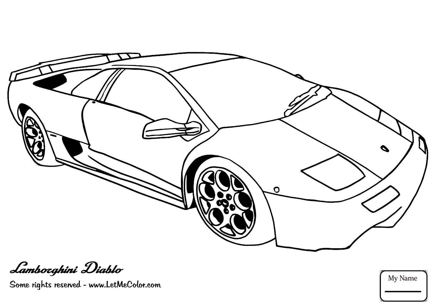 1464x1034 Transport Lamborghini Aventador Supercar Coloring Pages For Kids