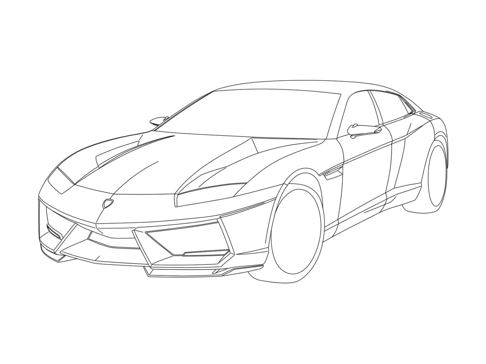 1600x1200 Sketch Lamborghini Veneno Roadster Youtube. Lamborghini Aventador