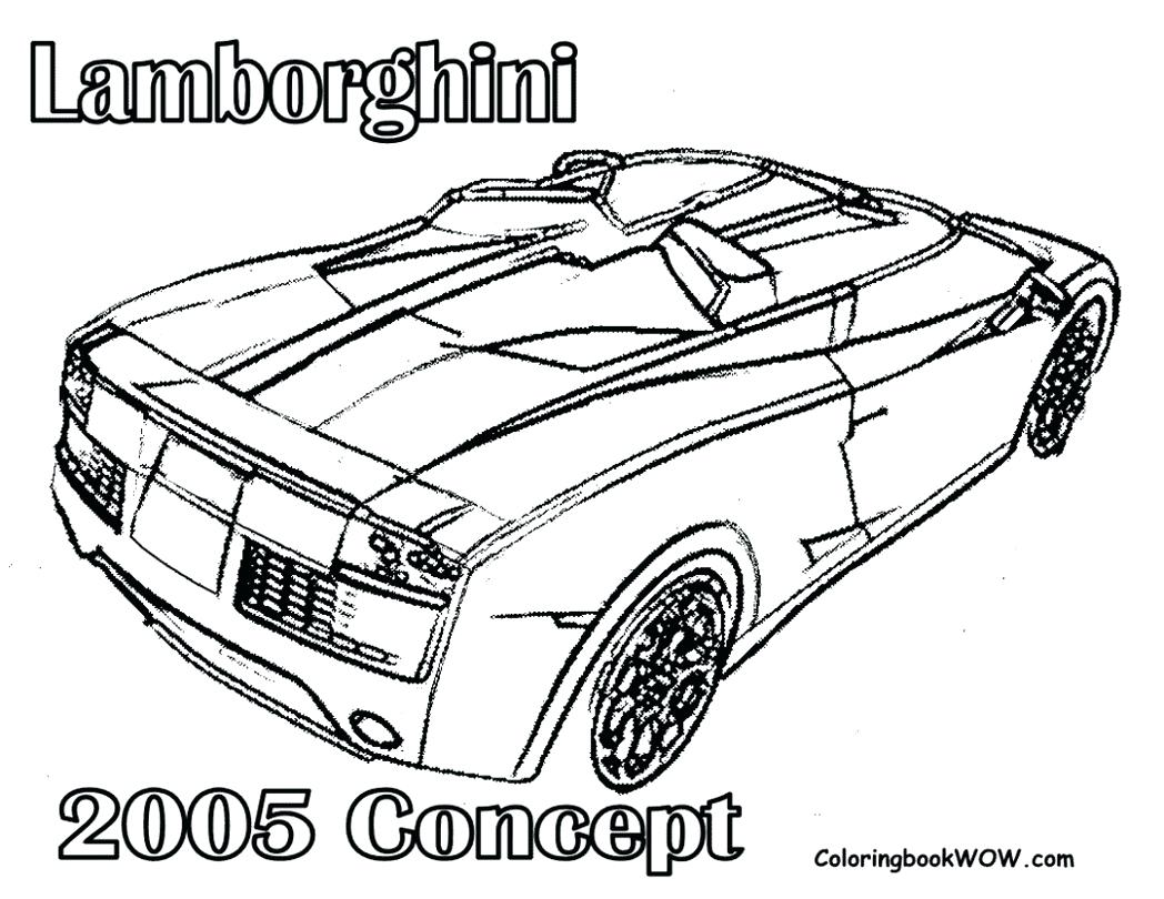 Lambhini Car Drawing at GetDrawings