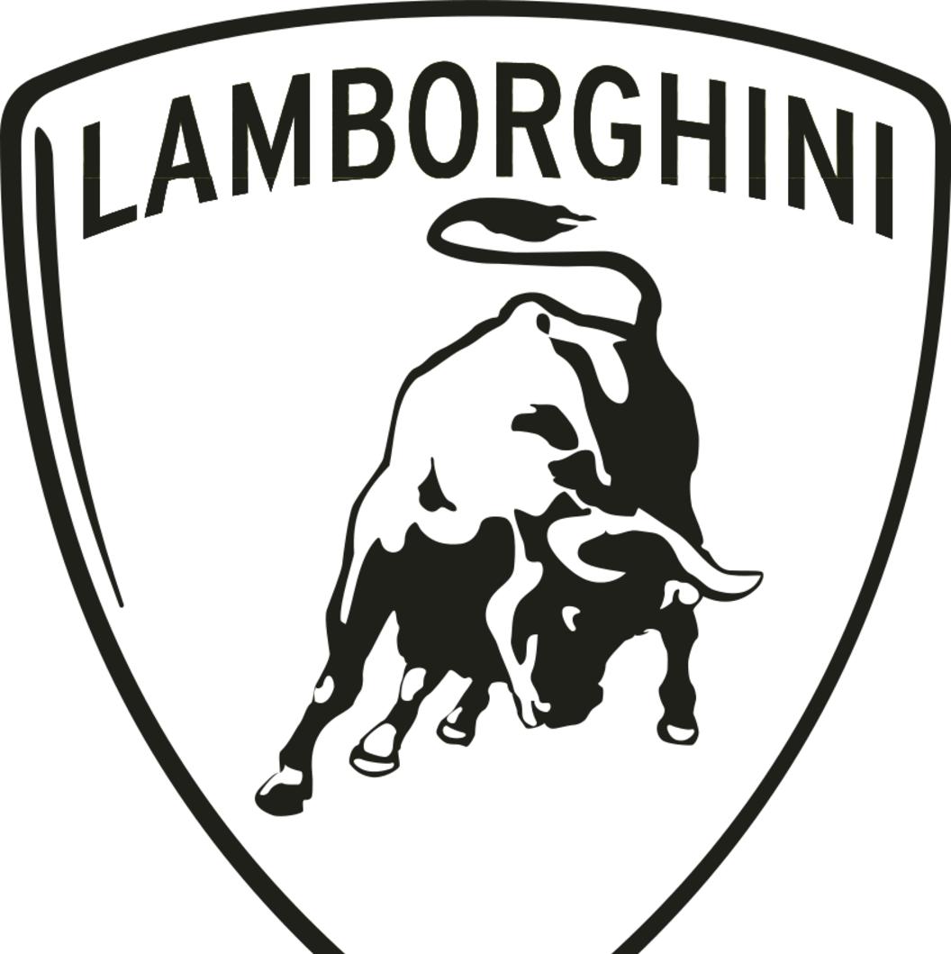 1056x1059 Drawn Lamborghini Lamborghini Logo