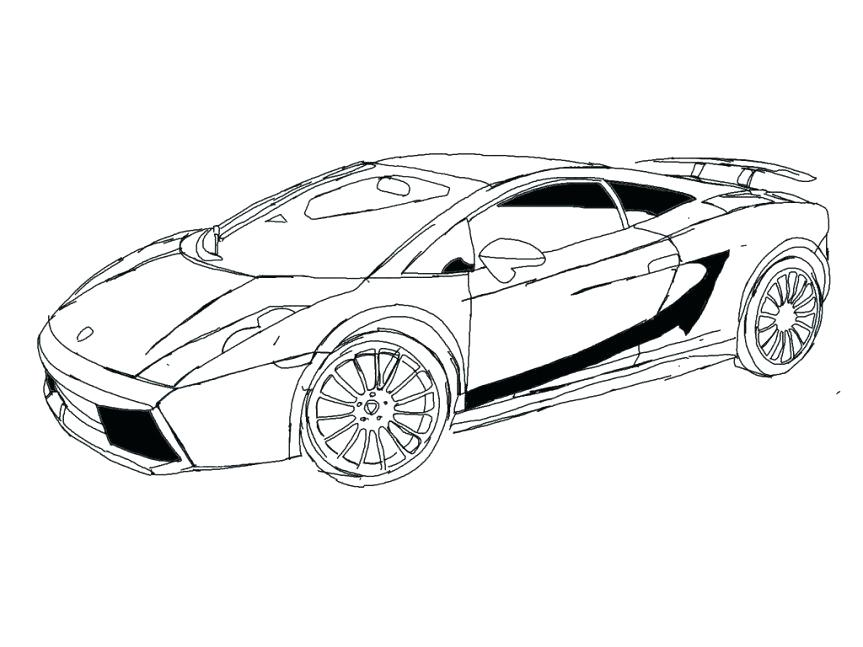 Lamborghini Car Drawing At Getdrawings Free Download
