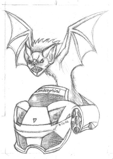 375x528 Car Drawings For Sale Saatchi Art