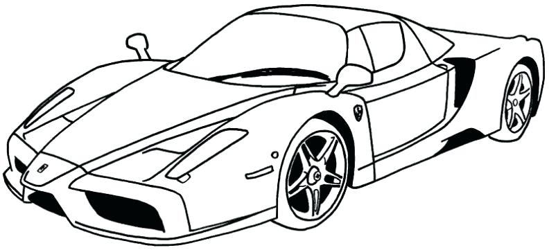 792x361 Lamborghini Coloring Pages Large Size Of Cool Easy Car Drawings