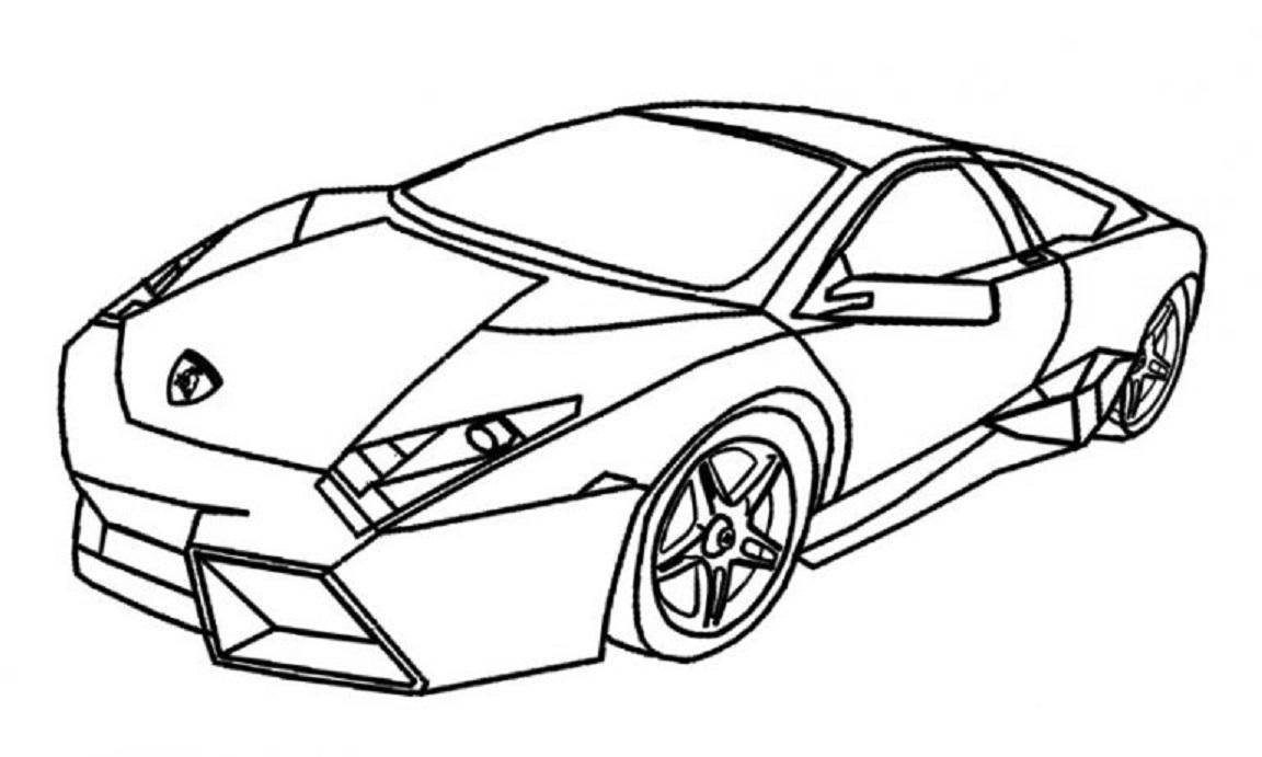Lamborghini Drawing Outline at GetDrawings   Free download