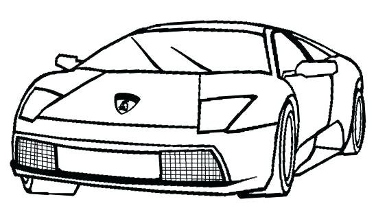 564x319 Coloring Pages Lamborghini