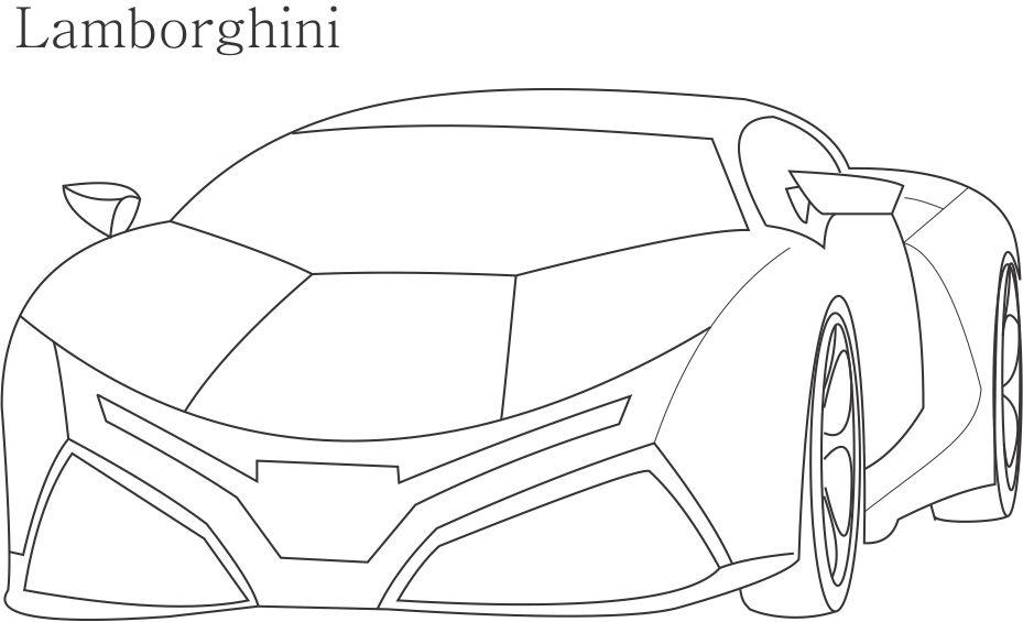 929x565 Coloring Pages Lamborghini Cars Many Interesting Cliparts
