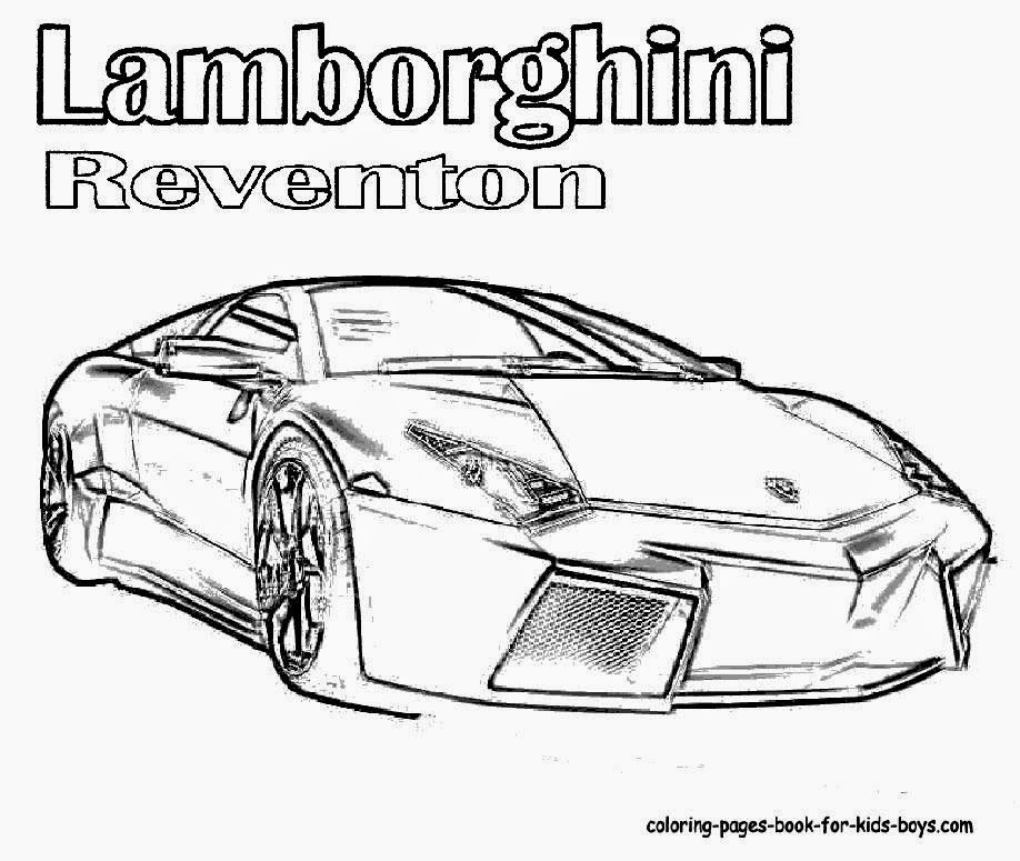 Lamborghini Drawing Outline At GetDrawings.com