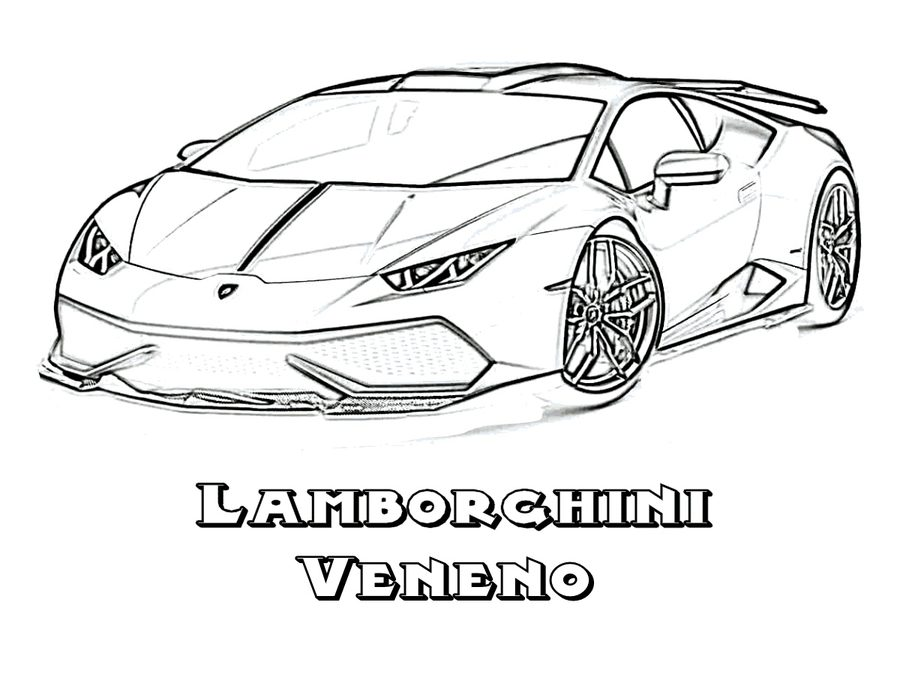 900x695 Coloring Pages Lamborghini, Printable For Kids Amp Adults, Free