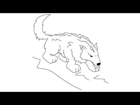 480x360 How To Draw A Wolf