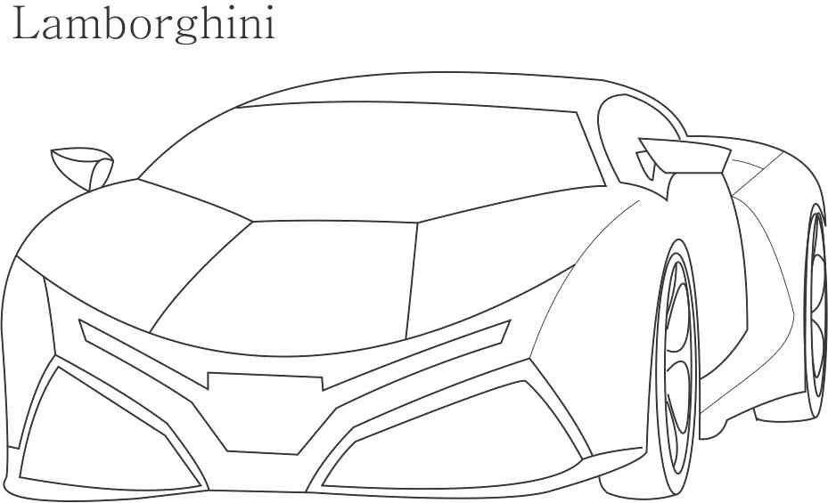 929x565 Lamborghini Coloring Pages To Print Also Coloring Pages To Print