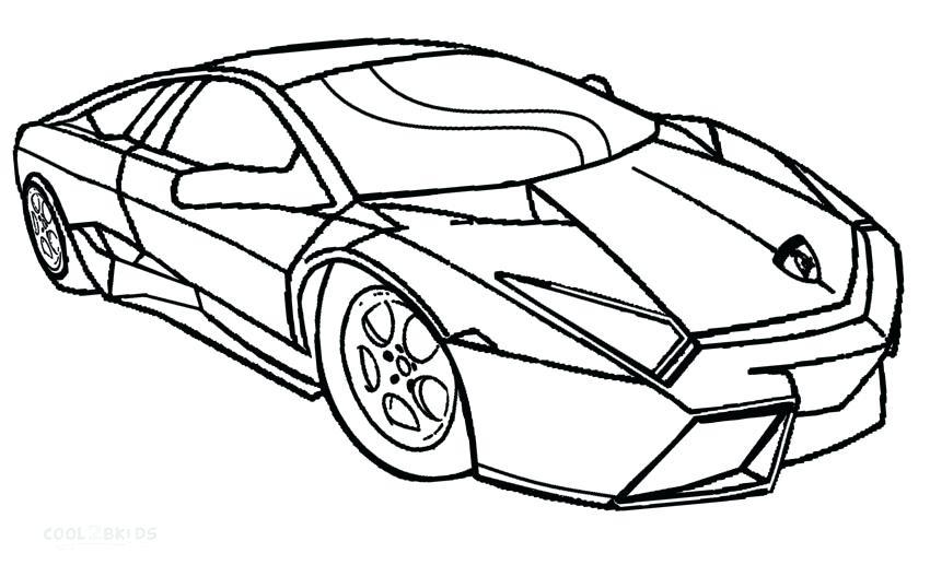 850x517 Lamborghini Coloring Pages