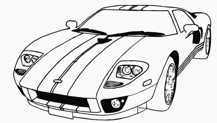 750x425 Coloring Pages Car Lamborghini Gallardo Free Coloring Page Cars