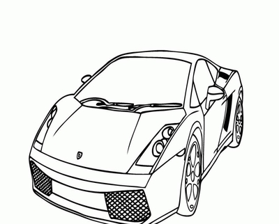 400x322 Ferrari Coloring Pictures From The Back Page
