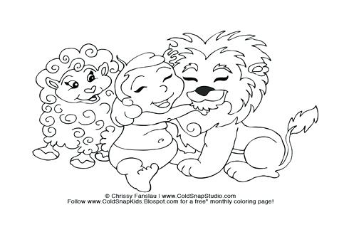 476x333 Good Coloring Page Lamb Fee Sheep Of A We Are All Magical Free