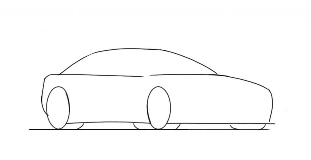 1024x528 How To Draw A Car For Kids How To Draw A Car Lamborghini Gallardo