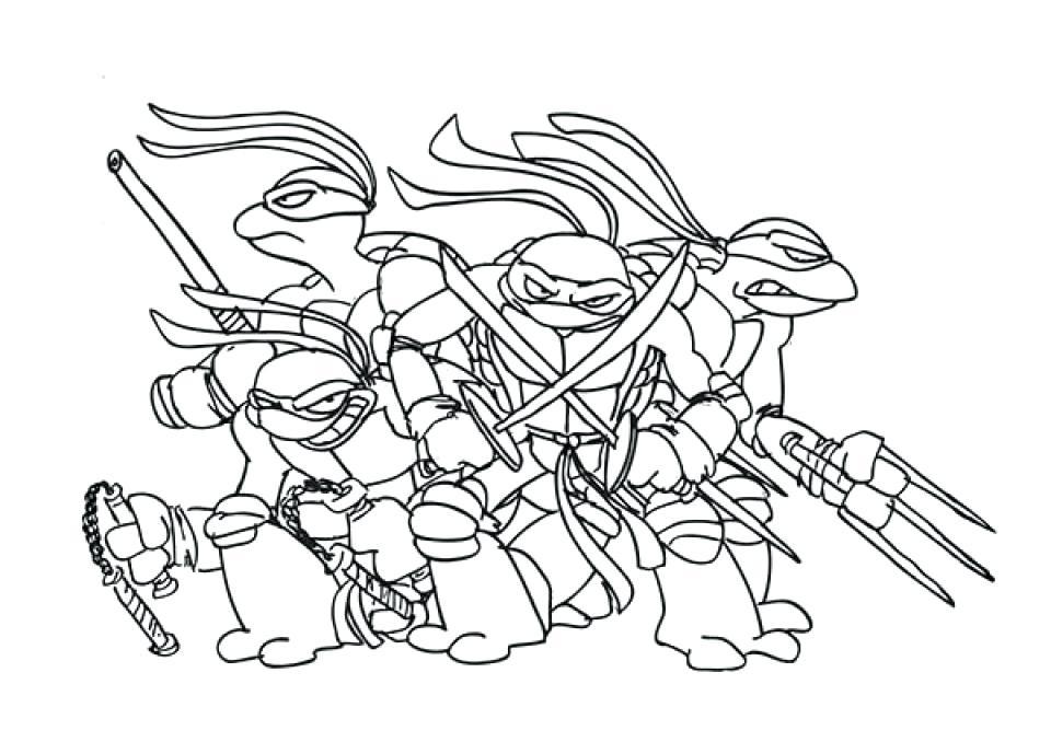 960x678 Lamborghini Coloring Pages Free Teenage Mutant Ninja Turtles
