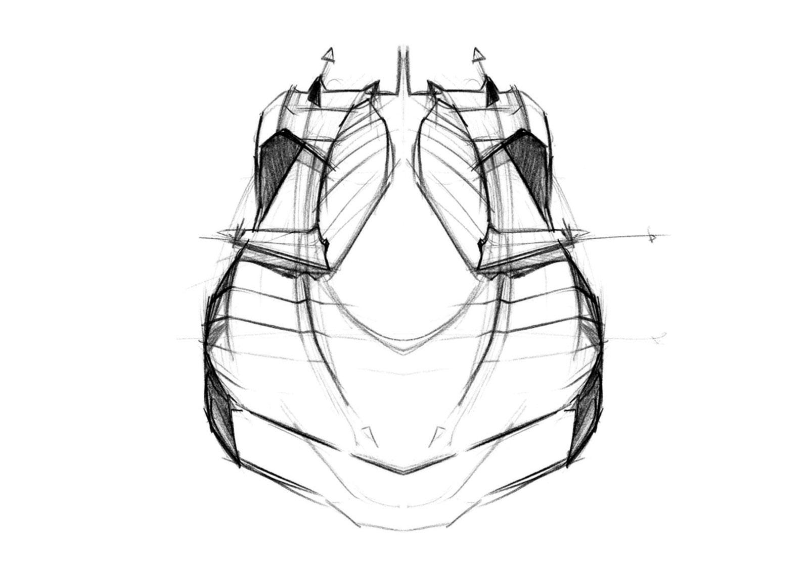 1600x1131 [ Lamborghini Sketch Easy ] Lamborghini Ankonian Concept