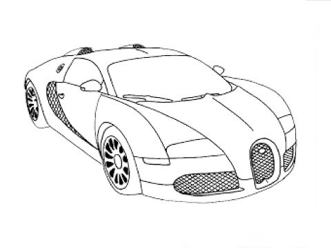 480x360 Stream How To Draw A Car Bugatti Veyron 2011 Drawing For Beginners
