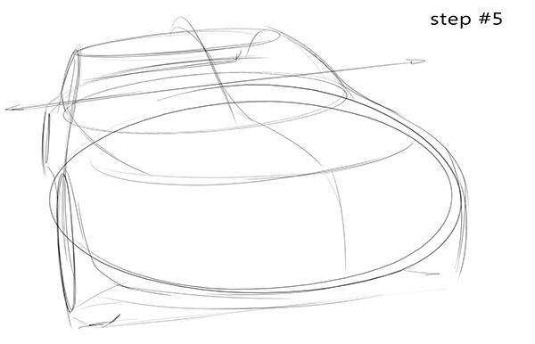 600x386 Visual Sweetness Auto Interiors Sketches, Car