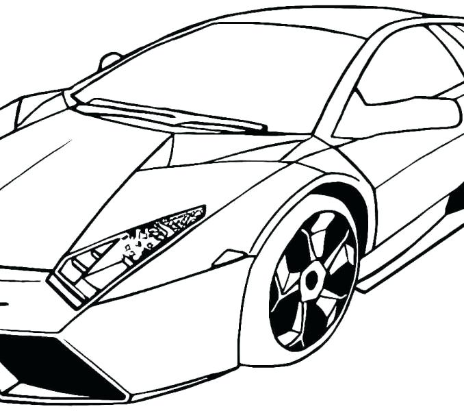 678x600 Lamborghini Coloring Page Downloads Coloring Pages On Sheets